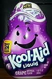 Kool-Aid Liquid Drink Mix - GRAPE 1.62oz (Pack of 4) by Kraft [Foods]