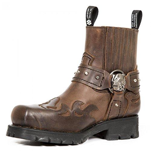 New Rock Men's Biker Boots Ggah8orw