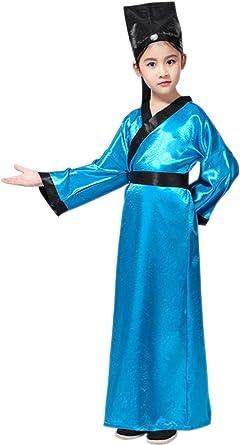 KINDOYO Niños y Disfraz de Confucio, Trajes Tradicionales Chinos ...