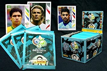500 Panini Sticker Alemania Mundial de Fútbol 2006: Amazon.es: Juguetes y juegos