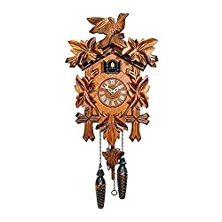 Engstler Christmas Decor Battery-Operated Cuckoo Clock - Full Size - 13.5H X 9.5W X 6.5D