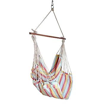 Hangit Cotton Swing Chair (Yellow, 50 Centimeters)
