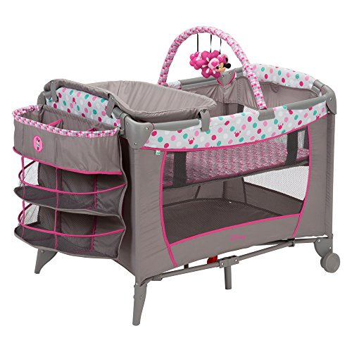 Disney Baby Sweet Wonder Play Yard with 3 Tiers of Storage