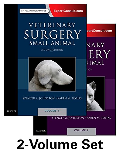Veterinary Surgery: Small Animal Expert Consult: 2-Volume Set, 2e by Saunders