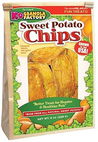 Image of K9 Granola Factory Sweet Potato Chips 8 oz