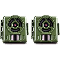 Primos Hunting Bullet Proof 2 8MP Low Glow HD Scouting Game Trail Camera, 2 Pack