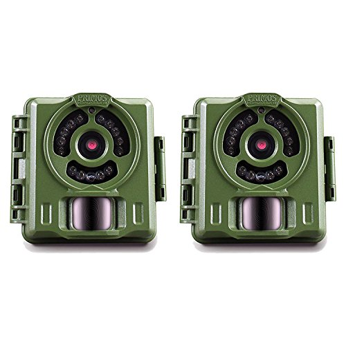 Bulletproof Camera (Primos Hunting Bullet Proof 2 8MP Low Glow HD Scouting Game Trail Camera, 2 Pack)