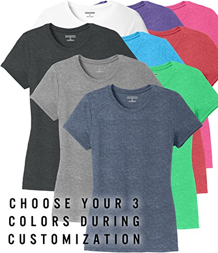 9e51b031bf2a8 KAMAL OHAVA Women s Tri-Blend Ultrasoft T-Shirt (Pack of 3)