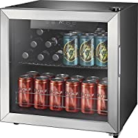 Insignia 48-Can Beverage Cooler (Stainless Steel/Silver)