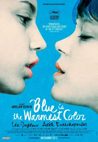 Blue is the Warmest Color  27 x 40 Movie Poster - Canadian S