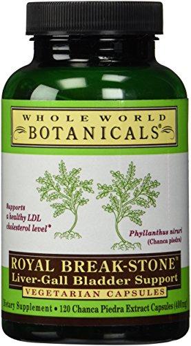 Whole World Botanicals, Royal Break Stone Liver Gall Vcp, 120 Veggie Caps