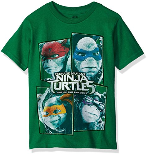 - Teenage Mutant Ninja Turtles Big Boys' Power T-Shirt Shirt, Kelly, Medium/10-12