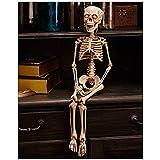 "LTD Halloween Decoration 30"" Lighted Skeleton His Eyes Light up Home Decor"