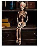 LTD Halloween Decoration 30'' Lighted Skeleton His Eyes Light up Home Decor