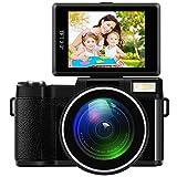 Hanbaili 4X Zoom Full HD Digital Camera, G36 Digital Camera Full HD 1080P