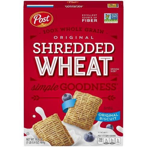Post Shredded Wheat Original - 16.4 oz
