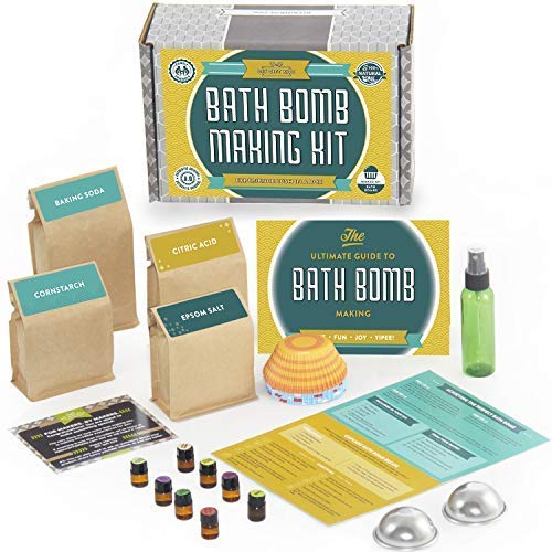 (DIY Bath Bomb Kit Deluxe with Mold Set)