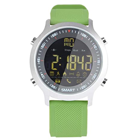 ZCPWJS Pulsera Inteligente EX18 Smart Watch IP68 Soporte ...
