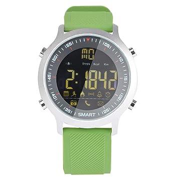 ZCPWJS Pulsera Inteligente EX18 Smart Watch IP68 Soporte ...