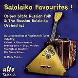 Balaika Favourites! Chansons folkloriques russes pour orchestre de balaika. Belov, Gnutov.