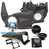 Rockford Fosgate Maverick Can-Am X3 Stage-2 Stereo and front speaker kit for select Maverick X3 models