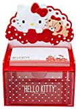 Hello Kitty Desktop Chest With Memo Pad: Red