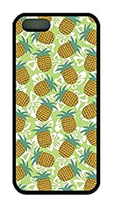 Pineapple Pattern Theme Iphone 5 5S Case TPU Material