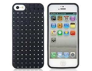 CECT STOCK TPU Funda protectora para el iPhone 5 (Negro)