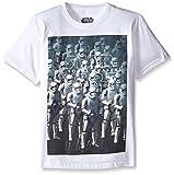 Star Wars Big Boys' Stormtrooper T-Shirt, White, Large/14-16