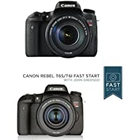 Canon EOS Rebel T6s Digital SLR with EF-S 18-135mm IS STM Lens - Wi-Fi Enabled w/ Fast Start Course