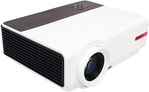 KJRJY Proyector de Alta definición LED Inicio proyector de Cine ...