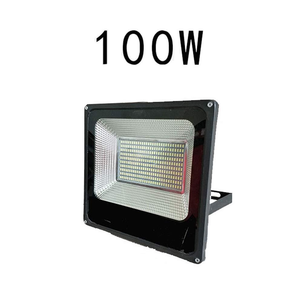 Csndice Home LED Faretto Da Esterno,Luce Di Proiezione Di Pubblicità Del Cantiere Del Riflettore Impermeabile All'aperto Del Tunnel IP65 66 (dimensioni   100W)