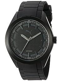 PUMA Unisex PU103321006 Analog Display Quartz Black Watch