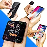#6: Clean Screen Wizard Screen Cleaner Microfiber Sticker - Cleaning Pad for Smart Phone & Small Portable Electronic Devices- Wireless Kit Size Small 1 ¼ x 1 ¼ inches (3 x 3 cm) Multicolor