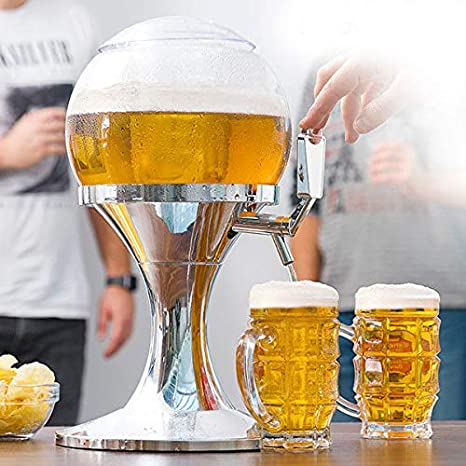 Dydaya DISPENSADOR & Tirador & Grifo DE Cerveza PORTATIL para CASA con Enfriador para Cerveza Fria