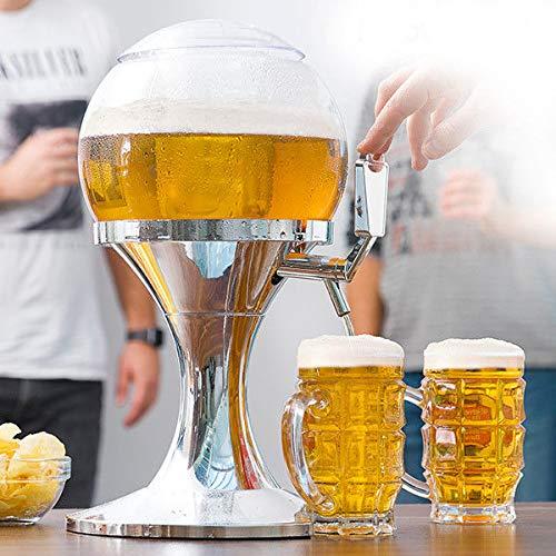 Dydaya DISPENSADOR & Tirador & Grifo DE Cerveza PORTATIL para CASA con Enfriador para Cerveza Fria & Heineken & Estrella & Cruzcampo & Mahou & Fagor ...
