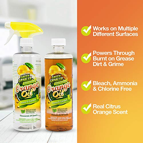 Green Gobbler All Natural Orange Oil Concentrate - 22.5 oz (D-Limonene) by Green Gobbler (Image #1)