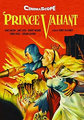 Prince Valiant [DVD] [1954] by Janet Leigh: Amazon.es: Janet Leigh, James Mason, Robert Wagner, Debra Paget ...
