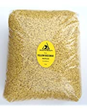 Yellow Beeswax Bees Wax Organic Pastilles Beads Premium Prime Grade A 100% Pure 5 LB, 2.27 kg