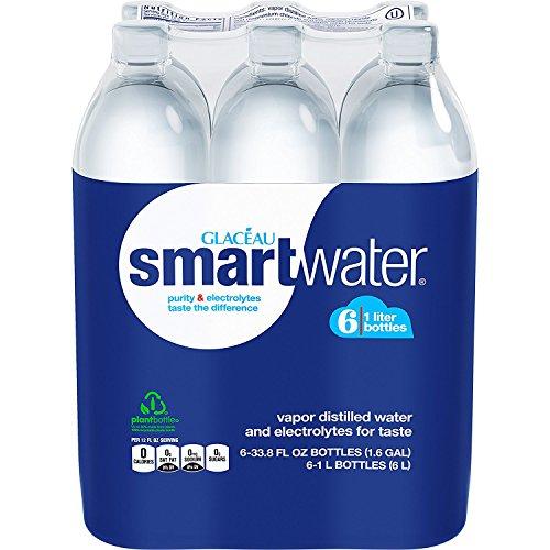 Glaceau Smartwater Vapor Distilled Water, 33.8 Ounce