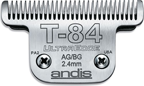 ANDIS COMPANY EQUINE Ultraedge Extra Wide Blade Silver T-84 AG/BG