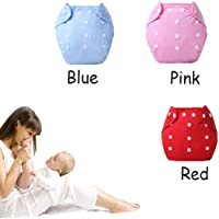 Ineffable Quirk Reusable Baby Washable Cloth Cotton Diaper- Combo of 3 Pieces