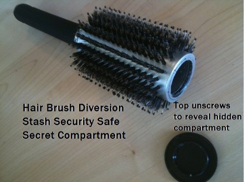 Hair Brush Stash Safe