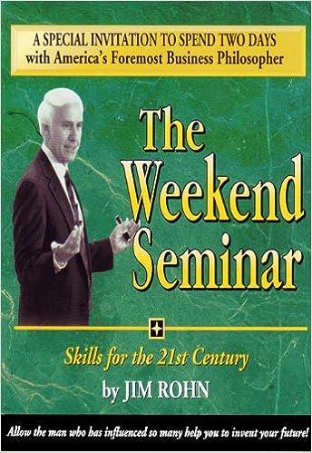 Jim Rohn - The Weekend Seminar 12CDs: Amazon.es: Jim Rohn: Libros