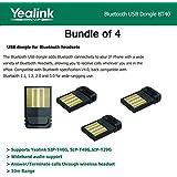 Yealink BT40 BundleX4 Bluetooth USB Dongle for Yealink SIP-T46G,-T48G,-T29G