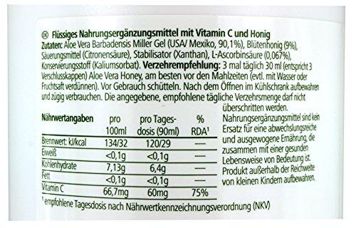 LR Aloe Vera Drinking Gel Honey / Honig Nahrungsergänzung 1000 ml