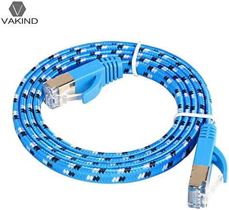 Cable Length: 10m Cables Occus 1//2//3//5//10//15M Cat7 Ethernet Cable Flat RJ45 Networking LAN Cords Jumper Occus Wire