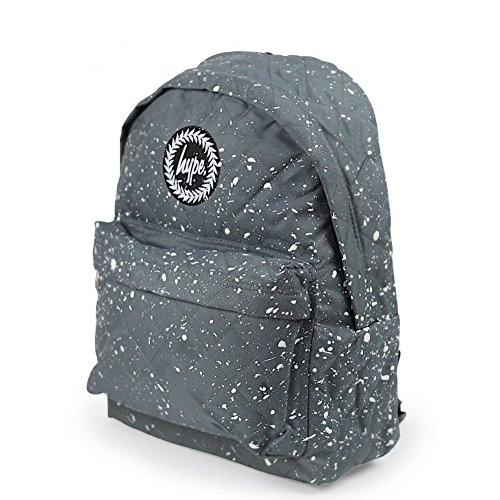 HYPE Speckle Paint Backpack - Grey/White