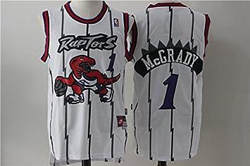 1b5451d2251 Men's Toronto Raptors #1 Tracy McGrady Jersey White (XXL), Fan Shop ...