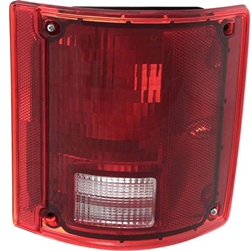 New Right Passenger Side Tail Lamp For 1978-1991 GMC Suburban Lens And Housing, Without Chrome Trim GM2807102 -